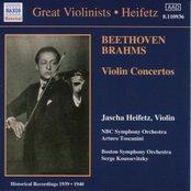 BEETHOVEN / BRAHMS: Violin Concertos (Heifetz) (1939-1940)