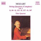 MOZART: String Quartets, K. 80, K. 155, K. 157 and K. 387