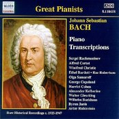 BACH, J.S.: Piano Transcriptions (Great Pianists) (1925-1947)