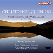 Gunning, C.: Symphonies Nos. 3 and 4 / Oboe Concerto
