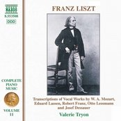 LISZT:  Transcriptions of Vocal Works by Mozart, Lassen, Franz, Lessmann and Dessauner