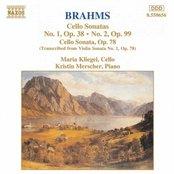 BRAHMS: Cello Sonatas Opp. 38, 78 and 99