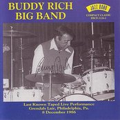 Buddy Rich Big Band - Grendal Lair, Philadelphia, Pa - 8 December 1986