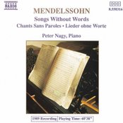MENDELSSOHN: Songs without Words, Vol. 1