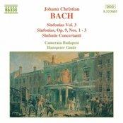 BACH, J.C.: Sinfonias, Vol.  3