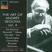 The Art of Segovia, Vol. 4 (1952-1958)