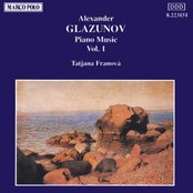 GLAZUNOV: Piano Music, Vol.  1