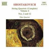 SHOSTAKOVICH: String Quartets Nos. 2 and 12