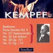 Wilhelm Kempff Plays Beethoven: Vol. II, Piano Sonatas