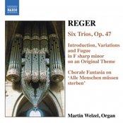 REGER: 6 Trios, Op. 47 / Introduction, Variations and Fugue, Op. 73