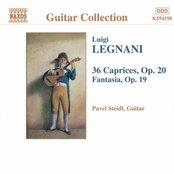 LEGNANI: Fantasia, Op. 19 / 36 Caprices, Op. 20