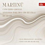 Concerto Grosso, Sinfonia for 2 orchestras, Tre Ricerari (Czech Philharmonic Orchestra, cond.Jiří Bělohlávek)