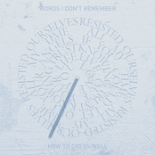 Cover artwork for Words I Don't Remember