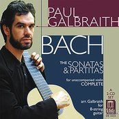 J. S. Bach: The Sonatas and Partitas (for violin) Complete - arr. Galbraith for 8-string guitar