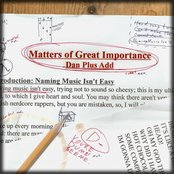 Matters of Great Importance