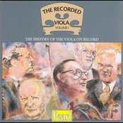 The Recorded Viola, Vol. 1