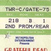 1991-09-14 - Madison Square Garden, New York, NY