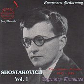 Composers Performing: Shostakovich Vol. 1