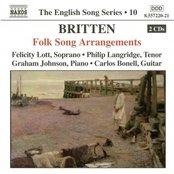BRITTEN: Folk Song Arrangements