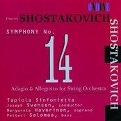 Shostakovich: Symphony No. 14; Adagio & Allegretto