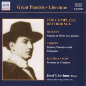 Lhevinne, Jozef: Complete Recordings (1920-1937)