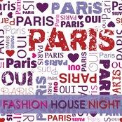We Love Paris  ( Fashion House Night)