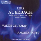 Auerbach: Twenty Four Preludes for Violin and Piano