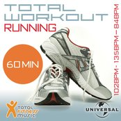 Total Workout Running 102 - 135 - 84bpm Ideal For Jogging, Running, Treadmill & General Fitness