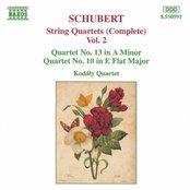 SCHUBERT: String Quartets Nos. 10 and 13