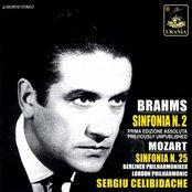 Brahms: Sinfonia N. 2; Mozart: Sinfonia N. 25