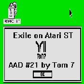Exile on Atari ST