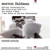 Routine Investigations / The Viola in My Life I, II / For Frank O'Hara / I Met Heine on the Rue Fürstenburg