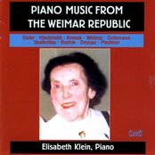 Piano Music From The Weimar Republic