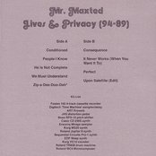 Lives & Privacy (94-89)