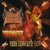 Insane Assholes/Suppurated - Split cd