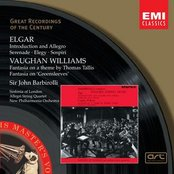 Elgar: Introduction and Allegro, Serenade, Elegy, Sospiri/Vaughan Williams: Fantasia on a theme by Thomas Tallis, Fantasia on Greensleeves