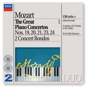 Mozart: The Great Piano Concertos, Vol.1