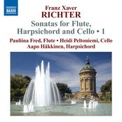 Richter: Sonatas for Flute, Harpsichord and Cello, Vol. 1