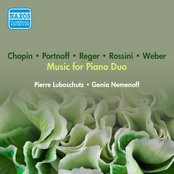 Piano Duo Recital: Luboschutz, Pierre / Nemenoff, Genia - Reger, M. / Weber, C.M. Von / Chopin, F. / Portnoff, M. / Rossini, G. (1953)