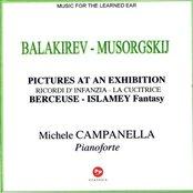 MUSORGSKIJ-BALAKIREV: Pictures at an Exhibition, Ricordi d'infanzia,La cucitrice, Berceuse,Islamey Fantasy