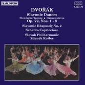 DVORAK: Slavonic Dances, Op. 72 / Slavonic Rhapsody