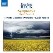 Beck: Symphonies, Op. 3, Nos. 1-4