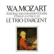 W. A. Mozart Intégrale Des 5 Divertimenti K 439b