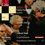 Poulenc, F.: Stabat Mater / Brahms, J.: 5 Gesange, Op. 104