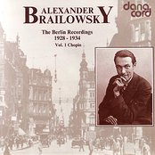 Alexander Brailowsky - The Berlin Recordings - Vol. 1 Chopin