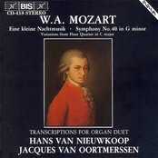 Mozart: Transcriptions for Organ Duet