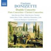 DONIZETTI: Double Concerto / Flute Concertino / Clarinet Concertino
