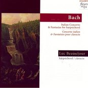 Italian Concerto and Fantasias for Harpsichord (Bach)