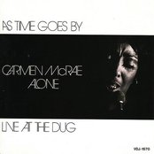 As Time Goes By: Carmen McRae Alone Live at the Dug