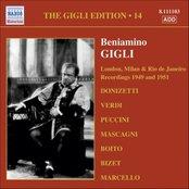 GIGLI, Beniamino: London, Milan and Rio de Janeiro  Recordings (1949, 1951)